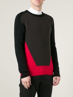 Relive Colour Block Sweater - Bernardelli - Farfetch.com