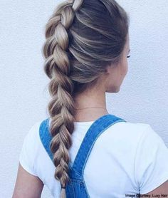 French Braid #partyhairstyle #frenchbraids