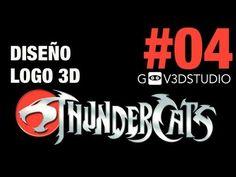 3ds Max 2012 Diseño Logo Thundercats Parte 04
