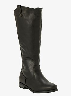 Zippered Tall Boots (Wide Width & Wide Calf)