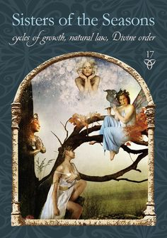 50 Sisters of the Seasons - Wisdom of the Hidden Realms Oracle Cards by Colette Baron-Reid