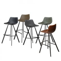 Pitch barkruk Dan-Form zwart mat - Bestel hem hier! Kitchen Queen, Living Styles, New Homes, Interior Design, Chair, House, Retro, Furniture, Home Decor