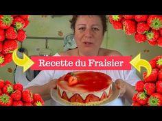 La recette du FRAISIER réalisé simplement avec le THERMOMIX - YouTube