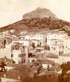 1900 ~ Kolonaki and Lycabettus Hill, Athens Bauhaus, Greece History, Greece Pictures, Old Greek, Greece Photography, Parthenon, Athens Greece, Greek Islands, Ancient Egypt