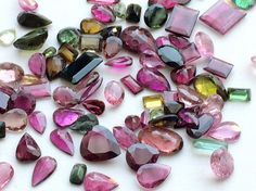 WHOLESALE 20 CTW 18 Pcs Tourmaline Multi by gemsforjewels on Etsy