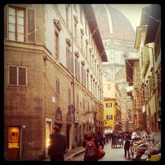 Firenze, via dei servi