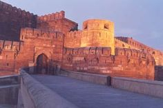 Agra Red Fort.