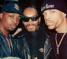 Chuck D., Melle Mel and Ice T