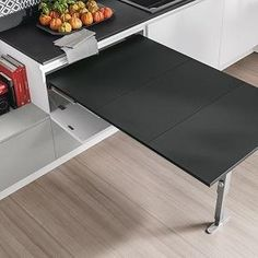 Penisola estraibile Stosa Flexible Furniture, Space Saving Furniture, Hobby, Modern Interior, Small Spaces, Mario, Kitchens, Tables, Houses
