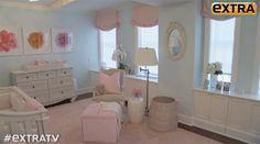 Hilaria and Alec Baldwin's Nursery featuring @Suzan Hamilton Decor nursery furniture