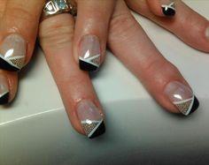 fingernail designs | nail art design for short nails
