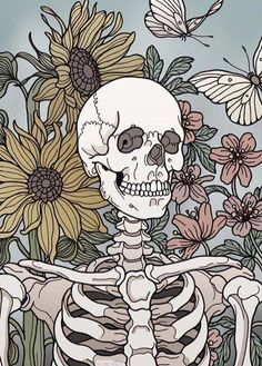 Wallpaper Iphone Trippy Dark 24 Ideas For 2019 Art Inspo, Kunst Inspo, Skull Wallpaper, Iphone Wallpaper, Disney Wallpaper, Art Sketches, Art Drawings, Art Du Croquis, Skeleton Art