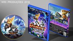 Heróis Da Galáxia - Ratchet E Clank - DVD 2 - ➨ Vitrine - Galeria De Capas - MundoNet | Capas & Labels Customizados