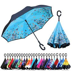 Seamless Pattern With Cute Baanimals Andflowers Compact Travel Umbrella Windproof Reinforced Canopy 8 Ribs Umbrella Auto Open And Close Button Customized