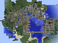 City of Caveport Minecraft Project