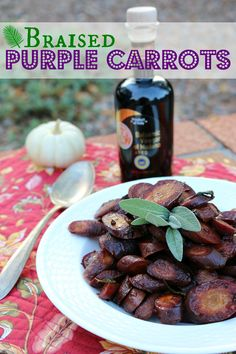 Braised Purple Carro