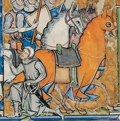 13th century (mid-1240s or ca.1250) France, Paris    New York, The Pierpoint Morgan Library  Ms M. 638: Morgan Bible AKA Maciejowski Bible fol. 43v  http://www.themorgan.org/collections/swf/exhibOnline.asp?id=200