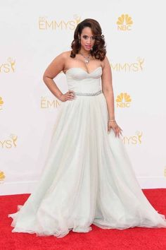 Dascha Polanco | All The Red Carpet Looks From The 2014 Emmy Awards