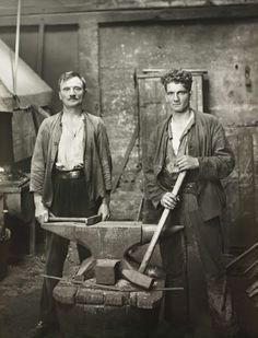 The blacksmiths by August Sander
