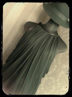 Drape drape 1 no.14 tuck drape tunic blouse