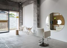 A Minimal Hair Salon That Accommodates Only One Client At A Time
