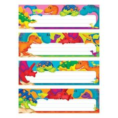 Dino-mite Pals Desk Toppers Name Plates Variety Pack Classroom Name Tags, Classroom Labels, Classroom Themes, Tangram Printable, Dinosaur Classroom, Locker Tags, Creative Teaching Press, Name Cards, Early Childhood