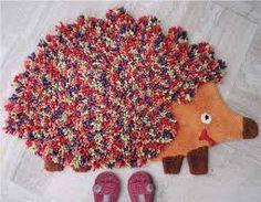 #Alfombras #Deco #Hogar #Decoracion #Originales #Ideas #Diferentes #Tips Gingerbread Cookies, Malva, Html, Animal, Tinkerbell, Shape, Model, Wool Rugs, Hedgehogs