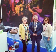 Primera jornada en #INTUR2015. Acompañando a los grandes profesionales del Patronato de Turismo de Córdoba @aramospeman @cordoba_turismo #fincabuytron #MontillaMoriles #cordobaesp