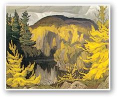 Quality print by Group Of Seven artist A. Casson - Autumn On The York; Available framed, giclee canvas. Made In Canada. Group Of Seven Artists, Group Of Seven Paintings, Tom Thomson, Emily Carr, Canadian Painters, Canadian Artists, Abstract Landscape, Landscape Paintings, Oil Paintings