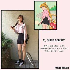 sailor moon korean fashion