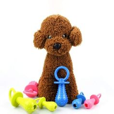 Teeth Cleaning Toy Water Resistant / Waterproof Sound Rubber For Dogs Cats Cleaning Toys, Teeth Cleaning, Dog Teeth, Toys Online, Dog Accessories, Cat Toys, Your Pet, Dog Cat, Teddy Bear