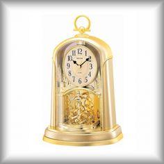 Elegantní stolní - krbové hodiny Rhythm Clock, Decor, Watch, Decoration, Clocks, Decorating, Deco
