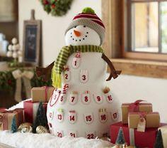 Cute Advent Snowman