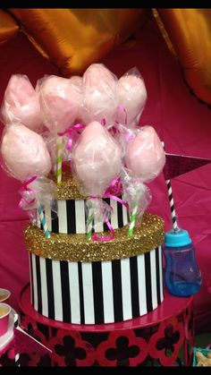 Vintage Glam Circus themed baby shower via Kara's Party Ideas | KarasPartyIdeas.com (15)