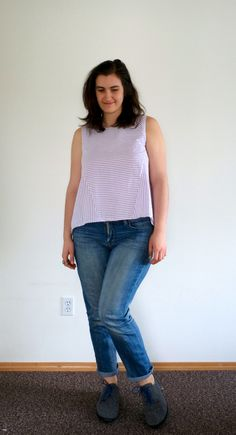 Pattern Review: In the Folds Collins Top