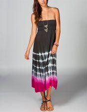 RAVIYA Tie Dye Convertible Dress 218982110 | Coverups | Tillys.com