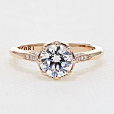 Simply Tacori Rose Gold Engagement Ring | Icing On The Ring