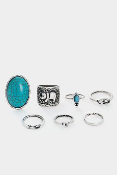 Enchanted Elephant Medi Ring Set