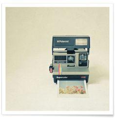 Instant Dreams - Polaroid camera photograph, retro wall decor, nostalgic, gift for photographer, minimalist art Print via Etsy Polaroid Pictures, Polaroids, Polaroid Cameras, Polaroid Film, Hello Weekend, Nostalgia, Vintage Cameras, Poloroid Camera Vintage, Antique Cameras