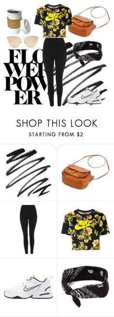 """""""Koreans"""" by artemisyuri on Polyvore featuring Topshop, NIKE and Christian Dior"""