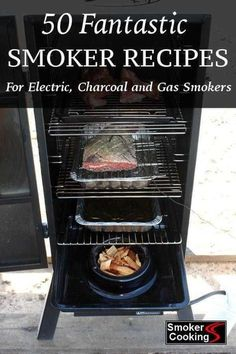 - Tempting Smoker Recipes For Delicious Smoked Foods… Every Time! 50 Fantastic Smoker Recipes for Electric, Charcoal and Gas Meat Smokers! Smoker Grill Recipes, Smoker Cooking, Grilling Recipes, Electric Smoker Recipes, Cooking Beets, Smoked Chicken Electric Smoker, Electric Meat Smokers, Grilling Tips, Cooking Bacon