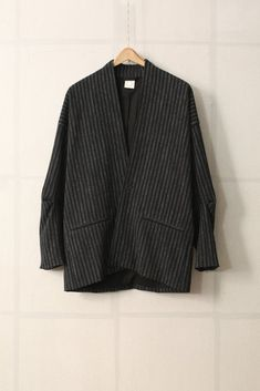 3ee35a8f78c Image of JACKET 27 - BLACK CHALK STRIPE by Jan-Jan Van Essche Creations
