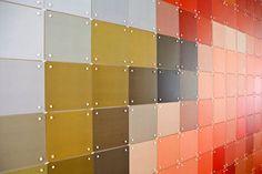 Arte pixelado en las paredes