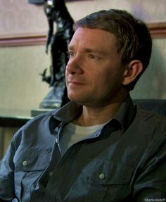 There will come a day when I will stop posting pictures of Martin Freeman... but it is not this day!