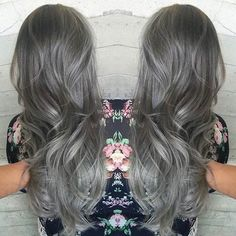 "21 Stunning Grey Hair Color Ideas and Styles 21 Stunning Grey Hair Color Ideas and Styles It has become one of the most unusual of trends but grey or silver hair seems to have become a bit of a ""thing"" recently. Once upon a time women we"