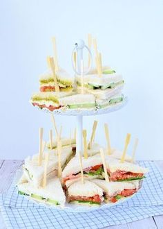 3x high tea sandwiches - Laura's Bakery