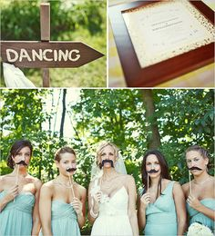Believe that this will be my wedding day! except I won't need to use anything but my fingerstache....!