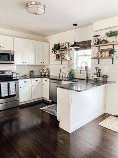 Inspect this web link right here based upon Small Kitchen Renovation Kitchen Room Design, Kitchen Redo, Modern Kitchen Design, Home Decor Kitchen, Interior Design Kitchen, New Kitchen, Kitchen Ideas, 10x10 Kitchen, Wood Floor Kitchen
