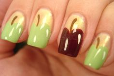 Nails for a teacher.  Colleen would like these.