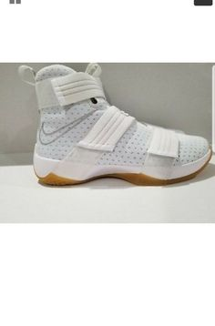 8fc669b24e38 Nike Lebron (James) Soldier 10 SFG White Mens Basketball Shoes Size 10   fashion